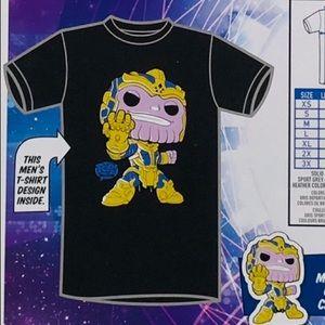 Funko pop thanos men's t-shirt ( XL )
